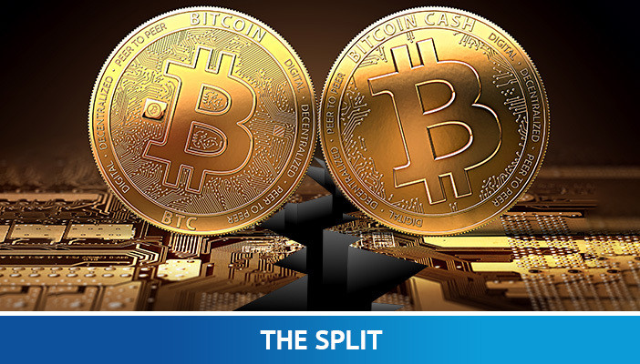 bitcoin og bitcoin cash split