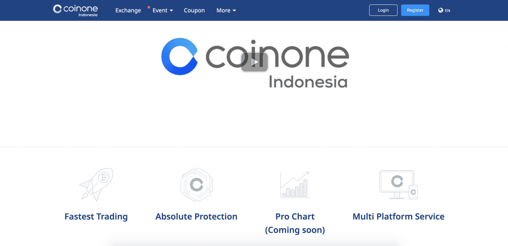 coinone anmeldelse indonesia