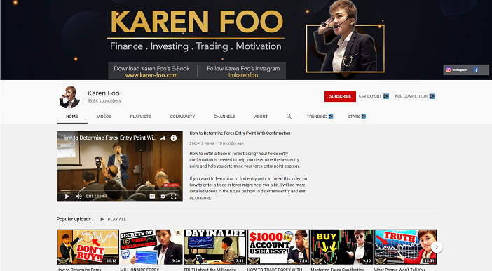 karen foo youtube